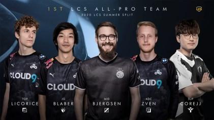 2020 LCS Summer Split 1st Team All-Pro