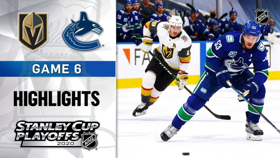 Vancouver Canucks vs. Vegas Golden Knights game recap