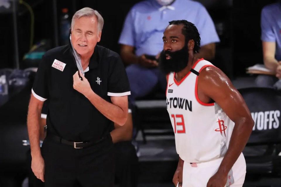 Head Coach Mike D'Antoni Won't Return to Houston Rockets