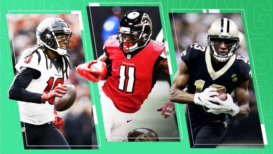 Top 7 Wide Receivers going into the season