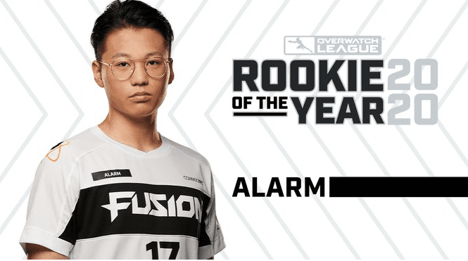 alarm rookie of the year