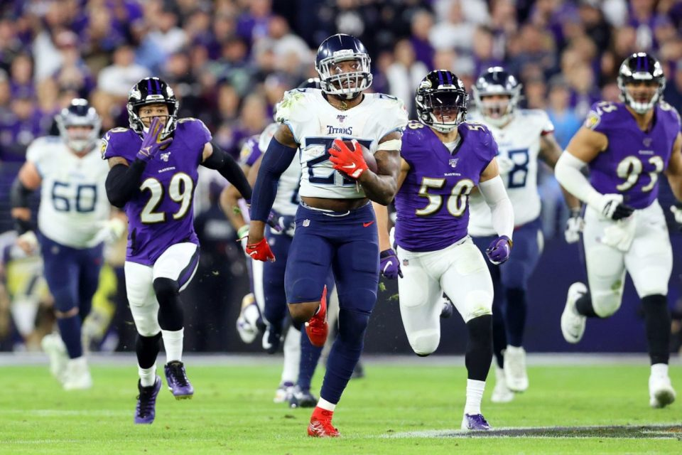 Titans Face Ravens After Struggles With Colts Continue