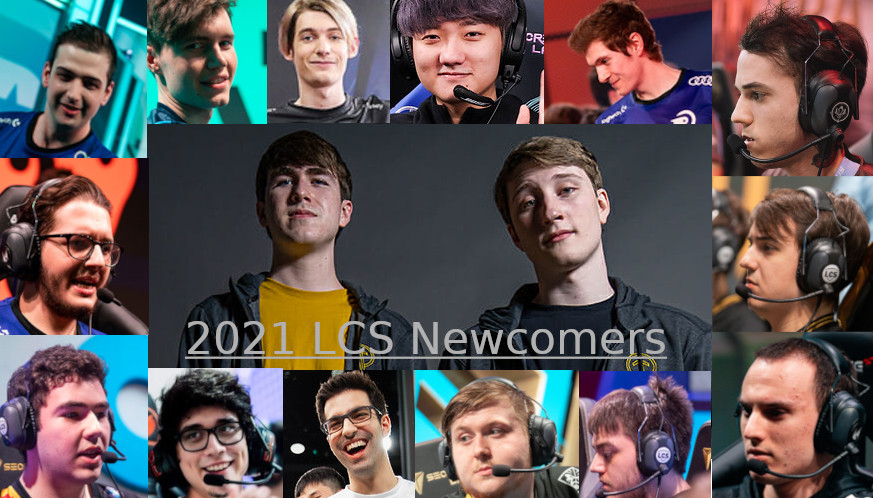 Several rookies, OCE residents, and imported players join the LCS in 2021.