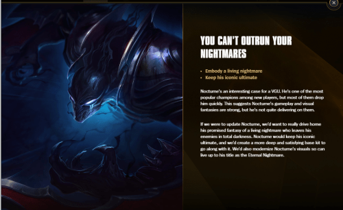 Champion Rework Vote Nocturne