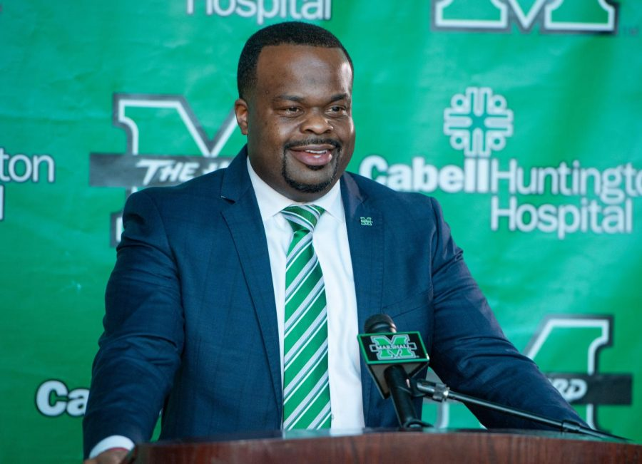 The Game plan for Marshall head coach Charles Huff