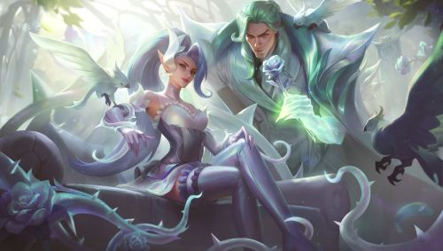 Crystal Rose Swain Splash Art