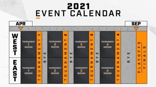 Overwatch League 2021 Schedule