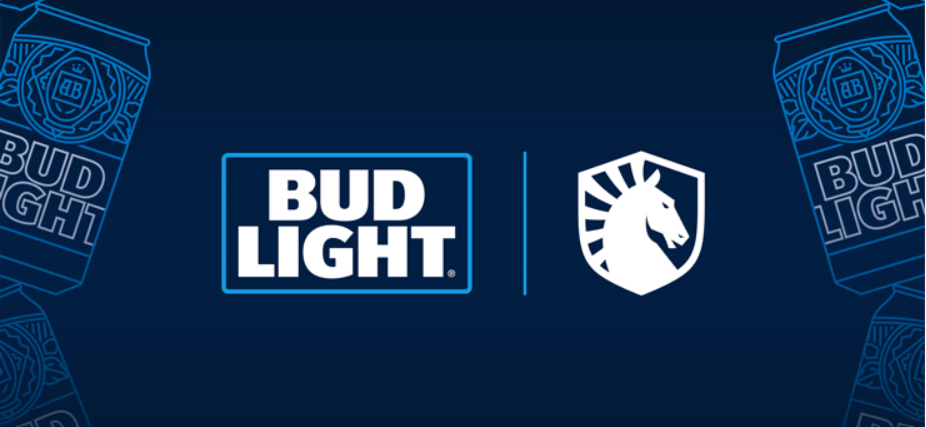 Bud Light joins Team Liquid as the Official Beer Partner.