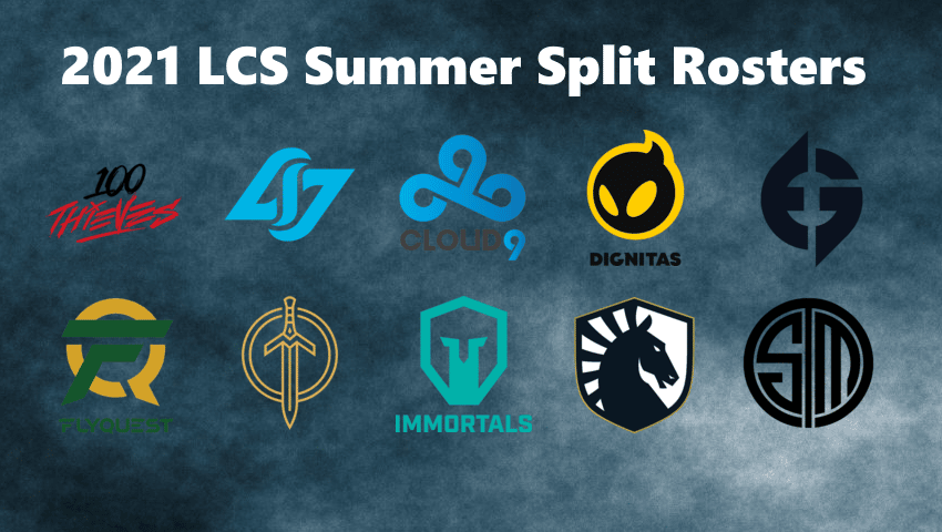 2021 LCS Summer Split Rosters