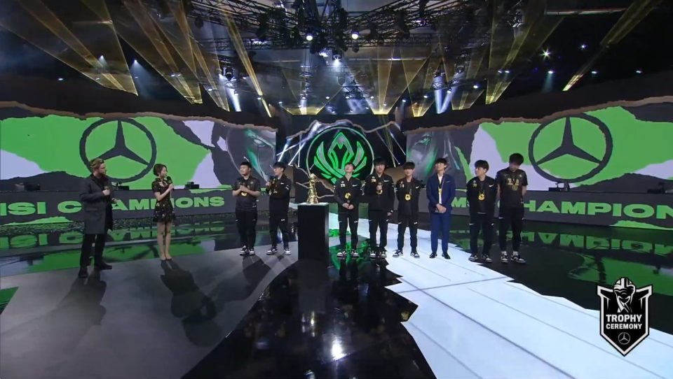 RNG win 3-2 over DWG for the 2021 MSI title.