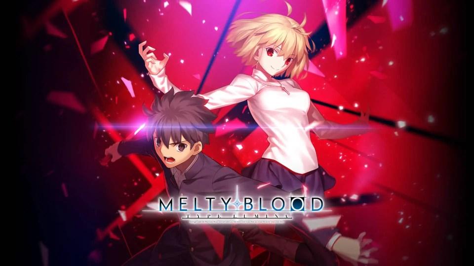 Melty Blood: Type Lumina key art