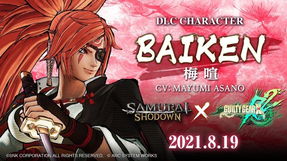 Baiken Samurai Shodown