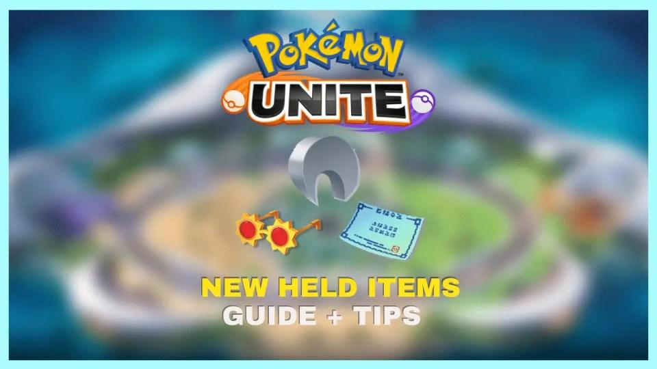 New held items