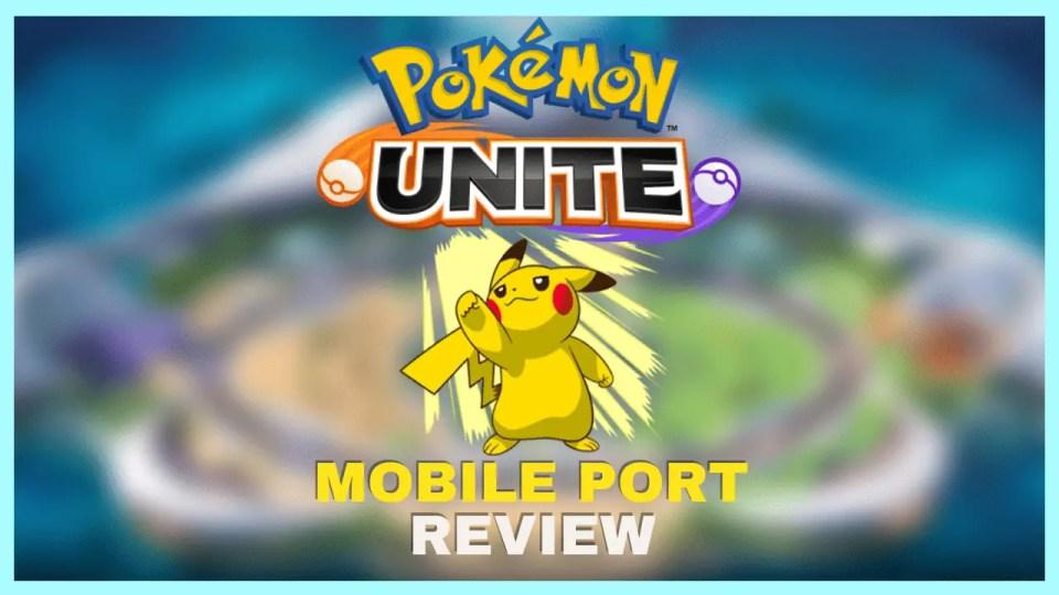 Pokemon Unite Review