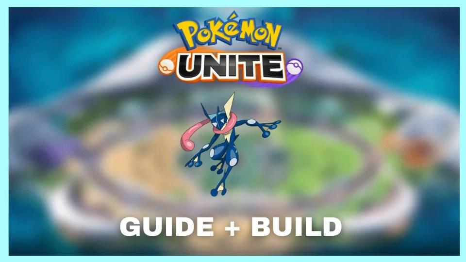 Pokemon Unite greninja build