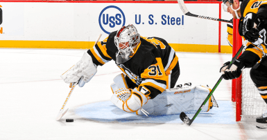 Rookie goaltender Filip Lindberg performed extremely well despite it being his first taste of professional hockey.