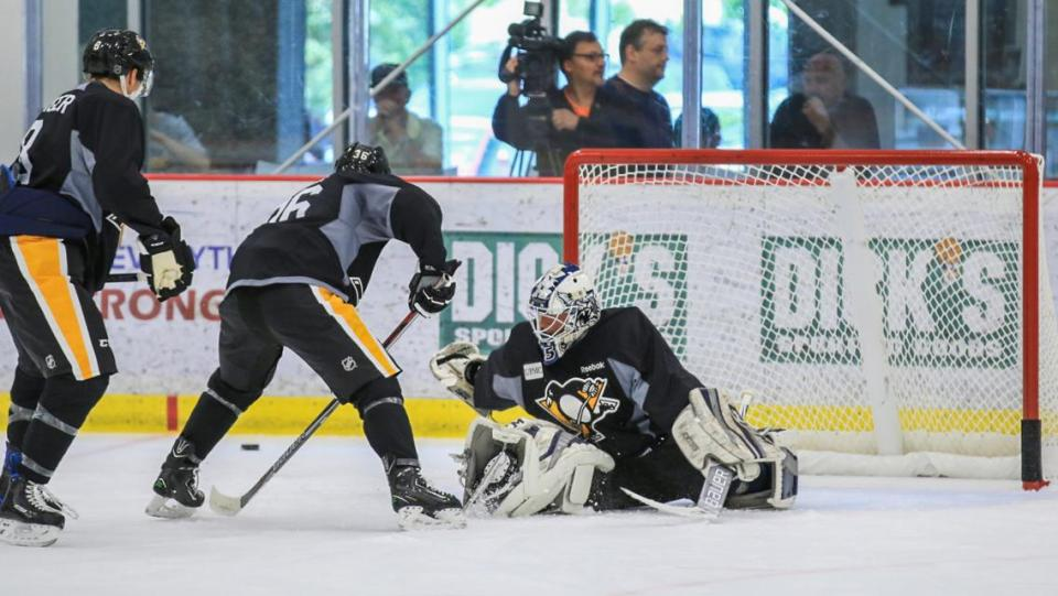 With the Pittsburgh Penguins' development camp roster announced, there are a few players to keep an eye on.