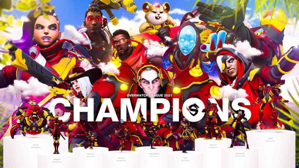 Shanghai Dragons Overwatch League Champions