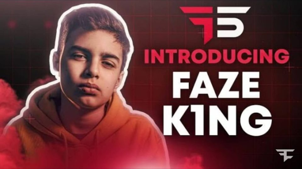 """FaZe K1NG is one of the best up and coming Fortnite players in the world at the moment. Thiago """"K1NG"""" Lapp, an Argentina native, is a former """"FaZe 5"""" winner."""
