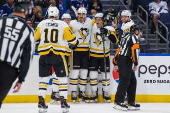 Despite possibly being the future fourth line to the Penguins, it will likely be broken up as players return to the lineup.