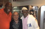Con Samuel l Jackson e Clive Davis a Capri