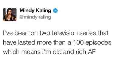 Source: Mindy Kaling Twitter