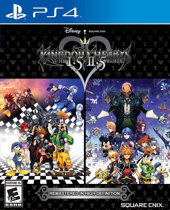 Kingdom Hearts HD 1.5 + 2.5 Remix Cover Art