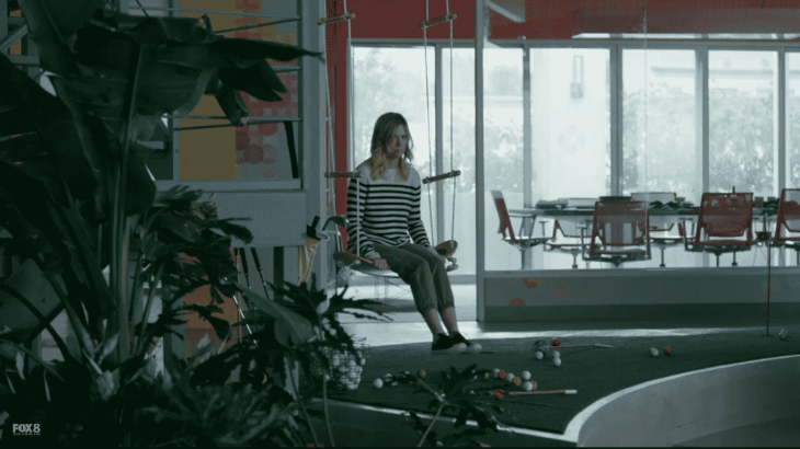 melissa on swing
