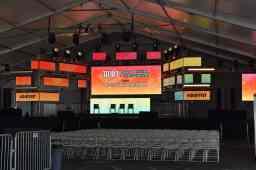 Inside the Panel Tent. Photo Source: Shannon Parola