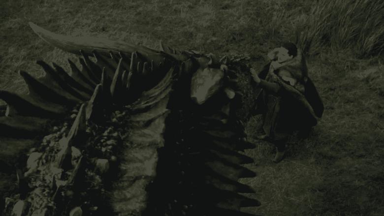 Drogon and Jon