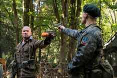 Dominic Purcell as Mick Rory/Heat Wave (left) and Evan Jones as Dick Rory (right). Photo courtesy of DC Legends TV.