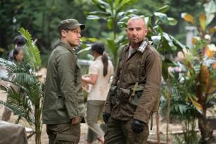 Nick Zano as Nate Heywood/Steel (left) and Dominic Purcell as Mick Rory/Heat Wave (right). Photo courtesy of DC Legends TV.