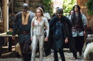"""DC's Legends of Tomorrow -- """"Beebo the God of War"""" -- Image Number: LGN309b_0438b.jpg -- Pictured: Caity Lotz as Sara Lance/White Canary -- Photo: Dean Buscher/The CW -- © 2017 The CW Network, LLC. All Rights Reserved."""