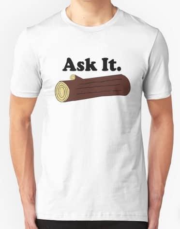 log tshirt