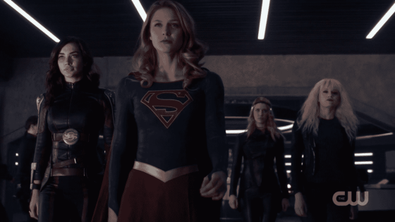 Supergirl recruits livewire and Psy