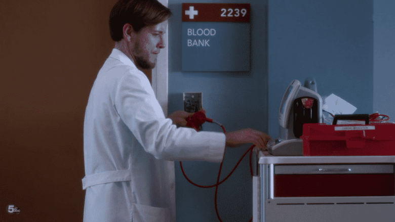 defib blood bank