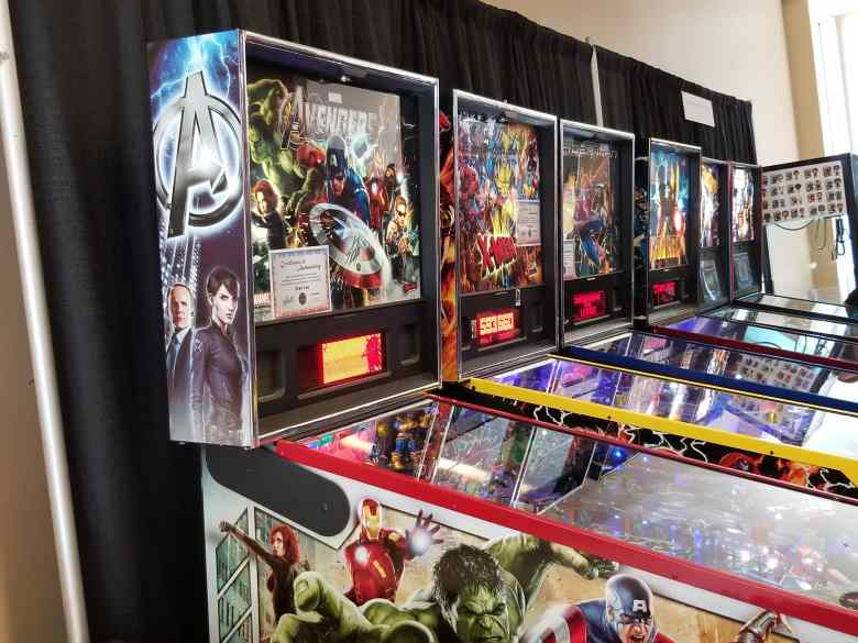 pinball at ace comic con