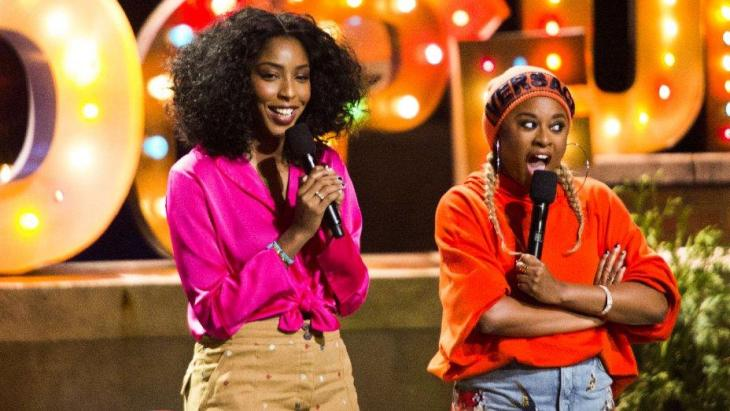 Jessica Williams and Phoebe Robinson - 2 Dope Queens HBO Comedy Special