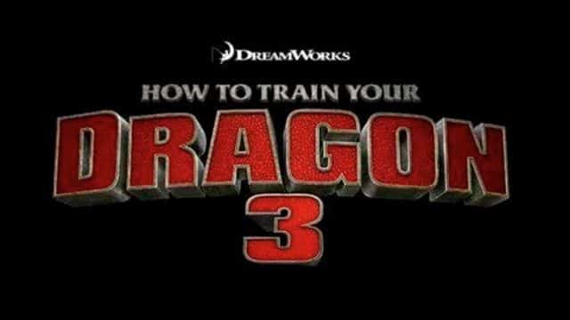 How to Train Your Dragon 3 logo