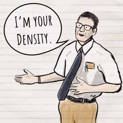 back to the future george mcfly i'm your density destiny