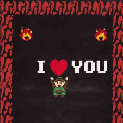 Zelda heart I love you
