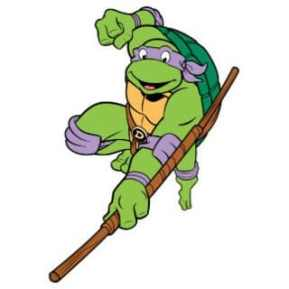 Donatello. Photo Source: Pinart.com