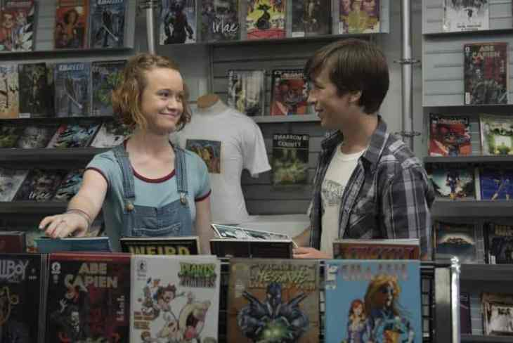 Abby and Eric at the comic shop