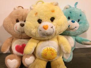 The 80's Care Bears. Photo Source: Pinterest(CBluv)