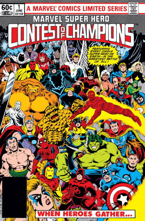 Marvel Super Hero Contest of Champions 1982 Cover