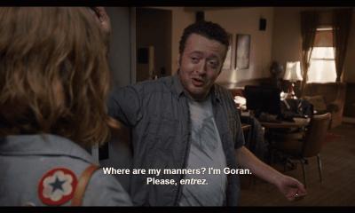 Goran is a creep