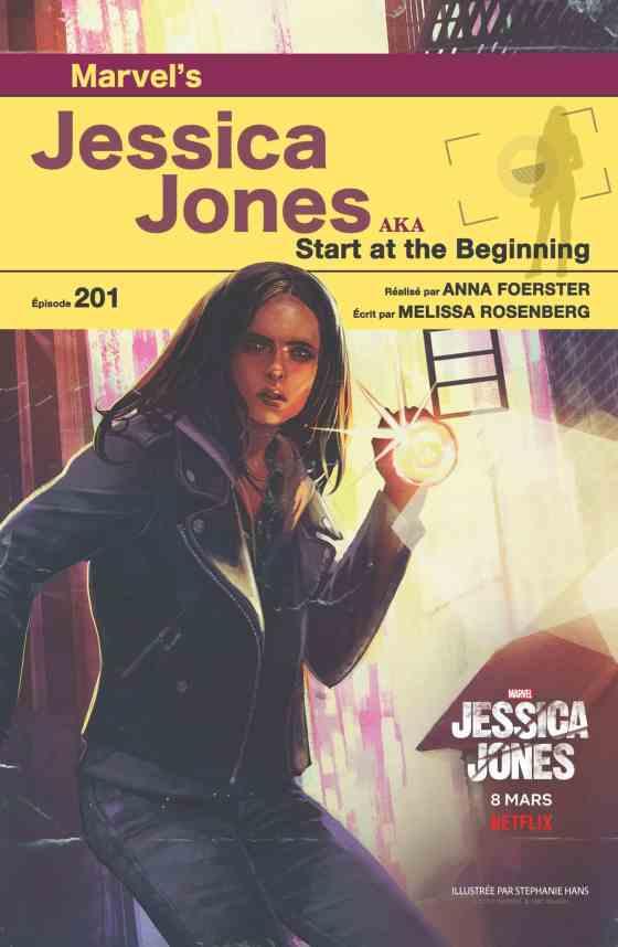 Jessica Jones 201 Poster