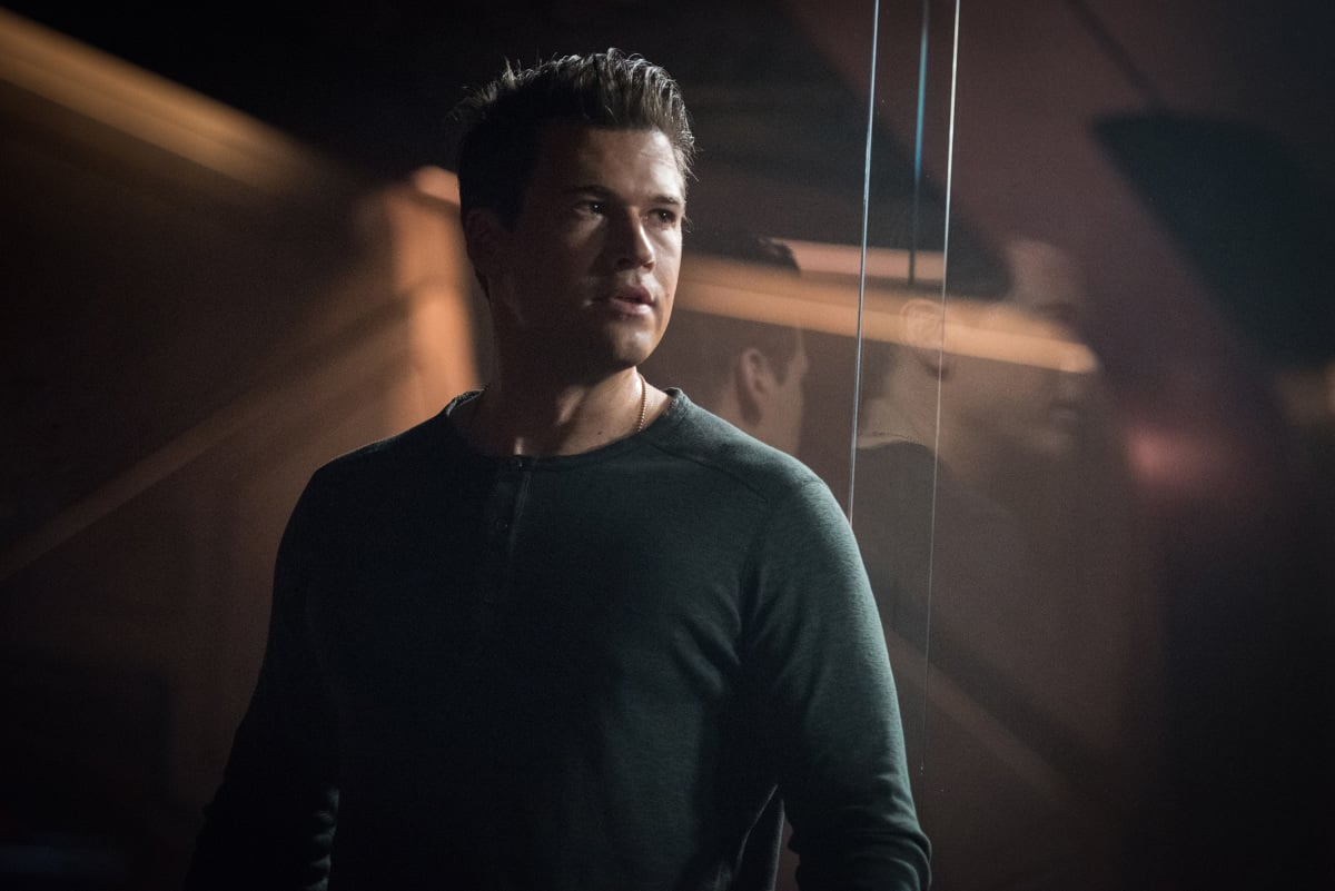 Nick Zano as Nate Heywood/Steel. Photo courtesy of DC Legends TV.