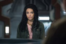 "DC's Legends of Tomorrow -- ""Guest Starring John Noble"" -- Image Number: LGN317C_0167b -- Pictured: Maisie Richardson-Sellers as Amaya Jiwe/Vixen -- Photo: Dean Buscher/The CW -- © 2018 The CW Network, LLC. All Rights Reserved."