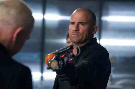 Dominic Purcell as Mick Rory/Heat Wave. Photo courtesy of DC Legends TV.